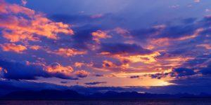 Alaska Sunset 24x48 768